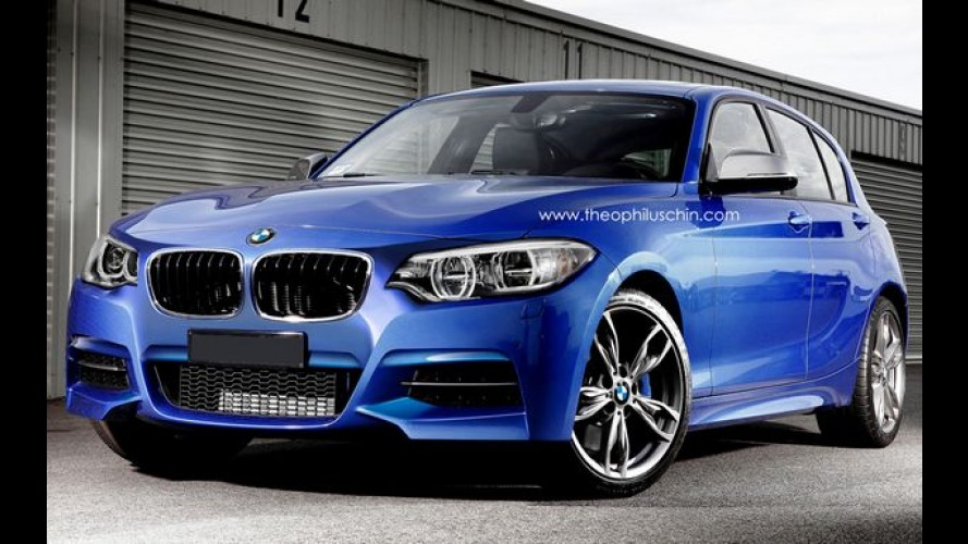 Nacional em 2015, BMW Série 1 reestilizado será o último com tração traseira