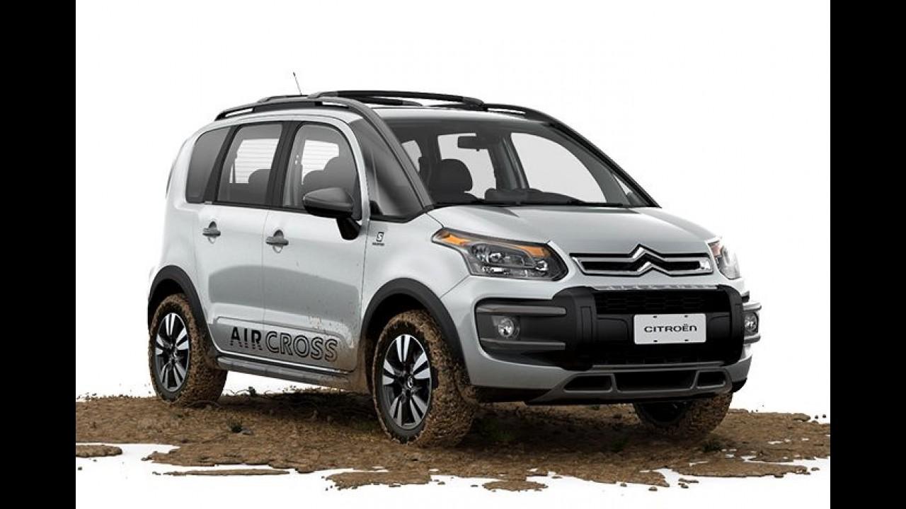 Citroën AirCross série Salomon ganha novos detalhes e GPS por R$ 57.340