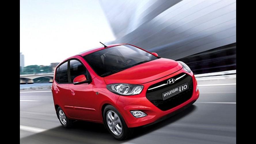 Hyundai i10 2013 recebe