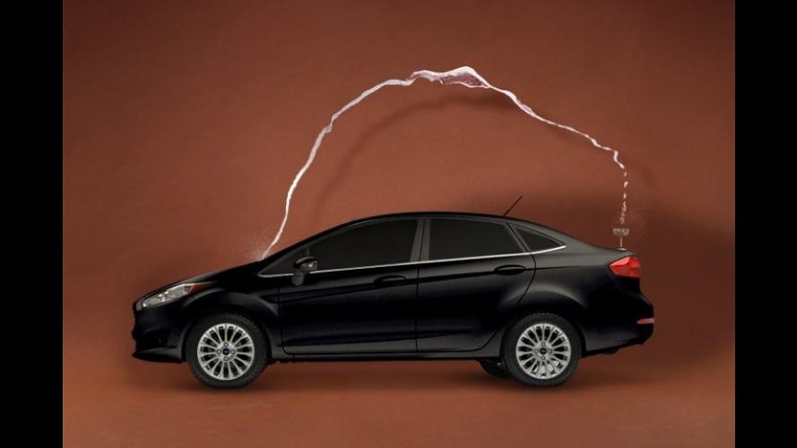 No clima: Ford equipara porta-malas do Fiesta ao traseiro da Kim Kardashian