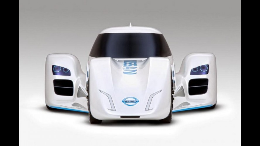 Nissan Zeod RC - elétrico promete superar os 300 km/h em Le Mans
