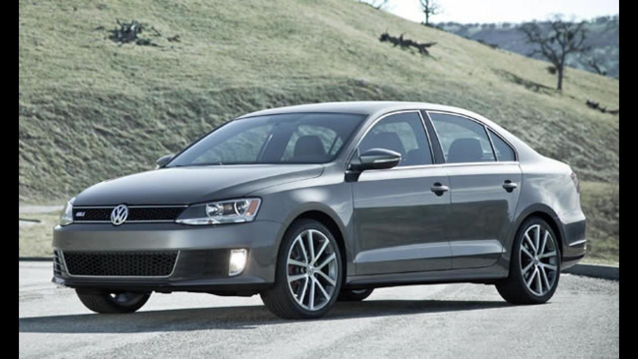 VW lançará Jetta 2.0 Turbo GLI 2012 no Salão de Chicago por R$ 39 mil