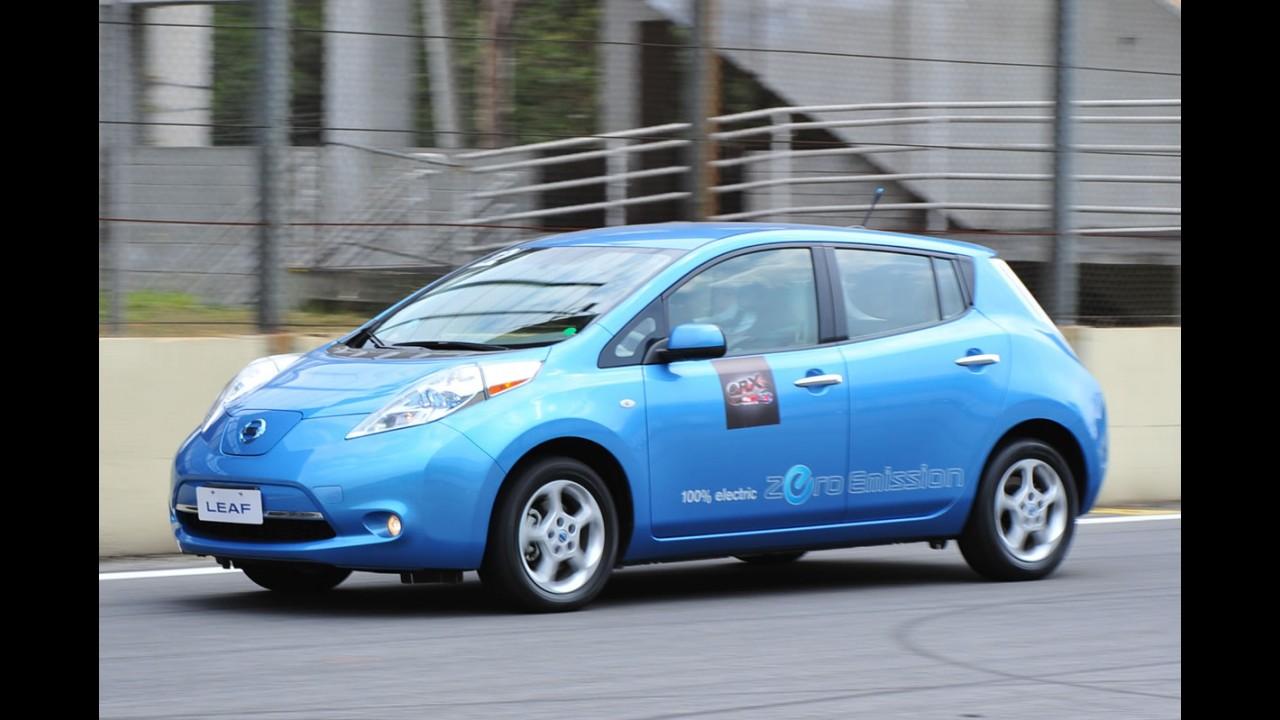 Nissan comemora mais de 20.000 pedidos do elétrico Leaf no mundo