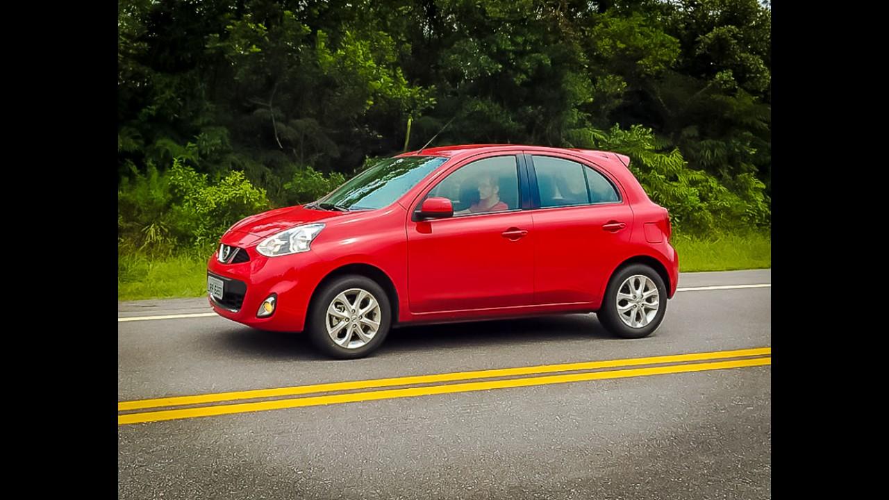 Nissan March e Versa devem ganhar câmbio automático CVT até o final do ano