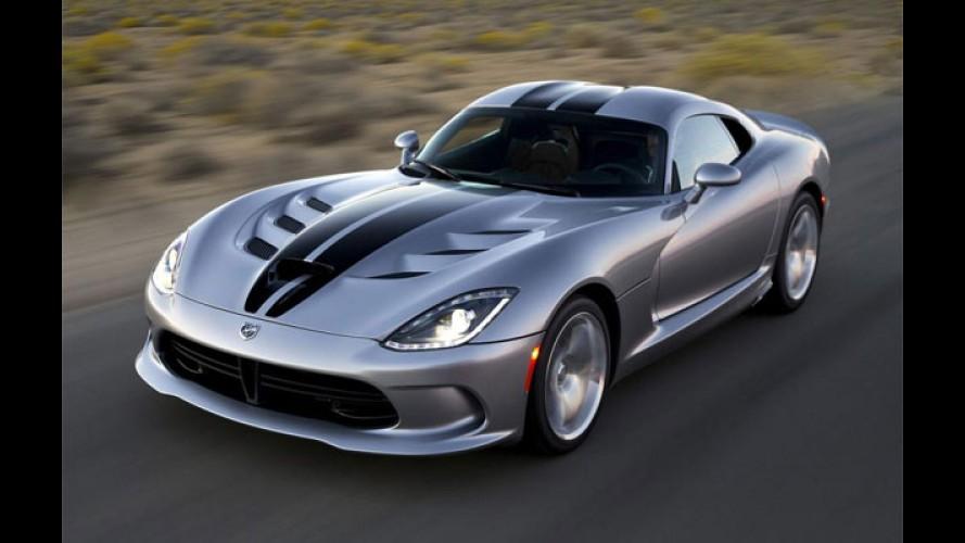 Mais barato e com logo da Dodge, Viper começa a emplacar nos EUA