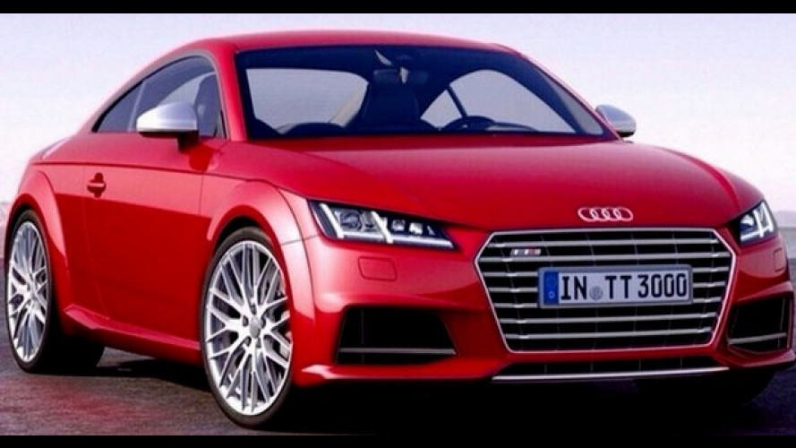Vazou: novo Audi TT é revelado por completo antes do Salão de Genebra