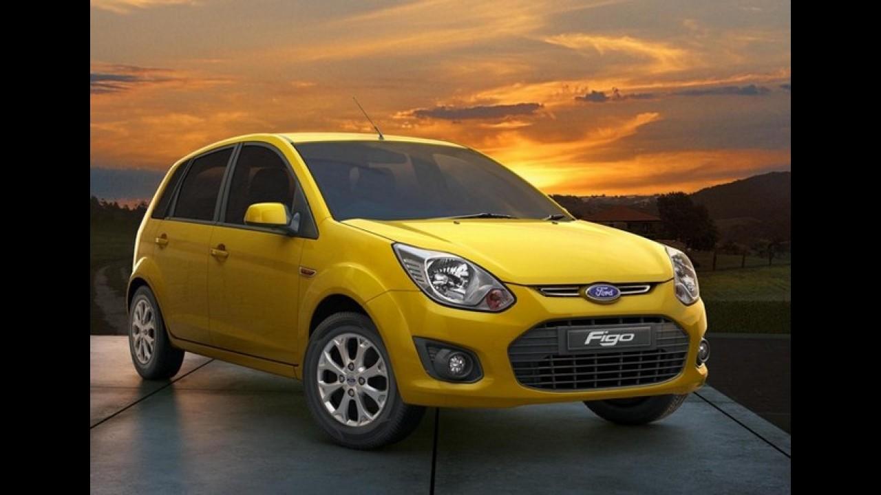 Ford Figo reestilizado é lançado na Índia - Veja a galeria de fotos