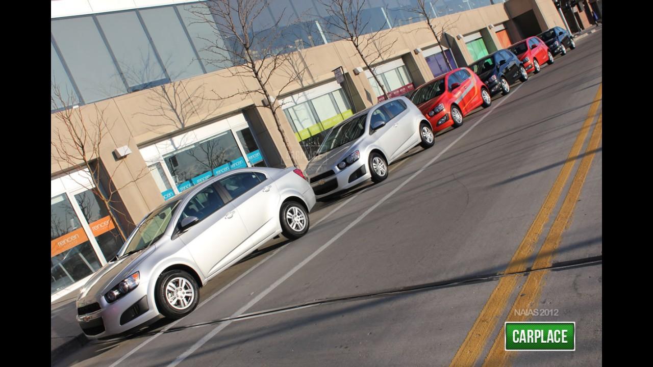 Flagra: Chevrolet Sonic começa ser enviado para concessionárias