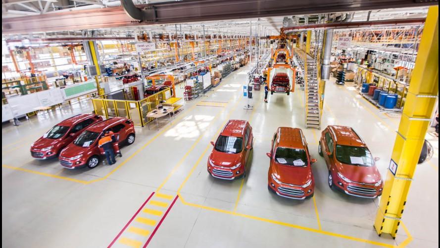 EcoSport emplacou 40 mil unidades na Europa em 2015 e terá produção na Romênia