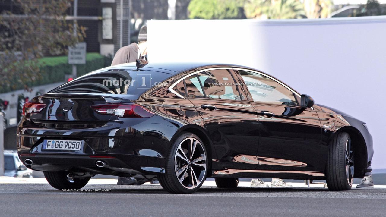 2017 Opel Insignia Grand Sport Spy Photo Photo