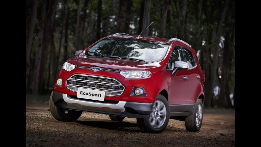 Ford EcoSport pode ser lançado nos EUA até o fim de 2017