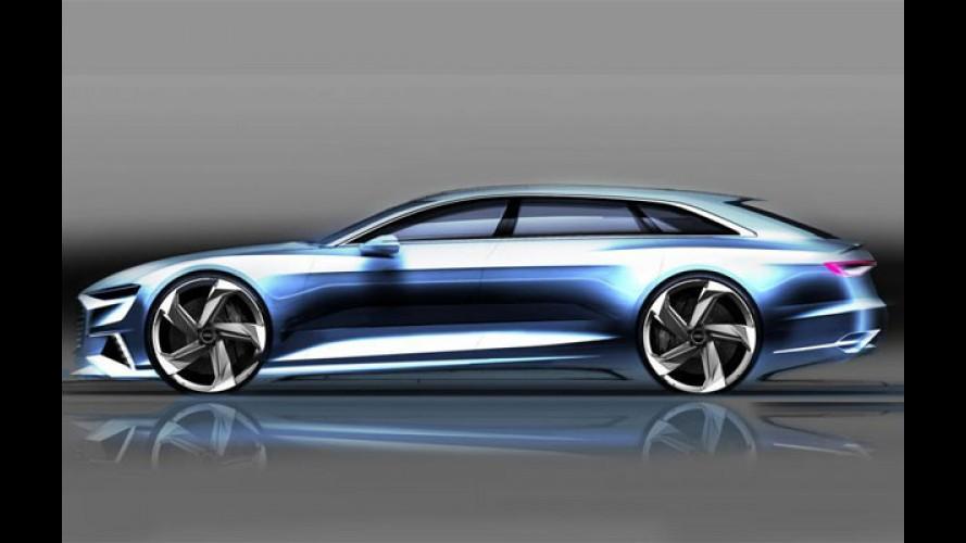 Audi Prologue Avant antecipa rival para o CLS Shooting Brake - veja teasers