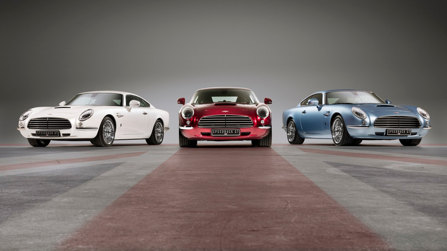 Aston Martin DB5 de James Bond reencarna no Speedback GT