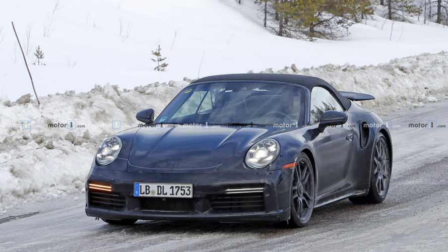 2020 Porsche 911 Turbo Cabriolet new spy photos