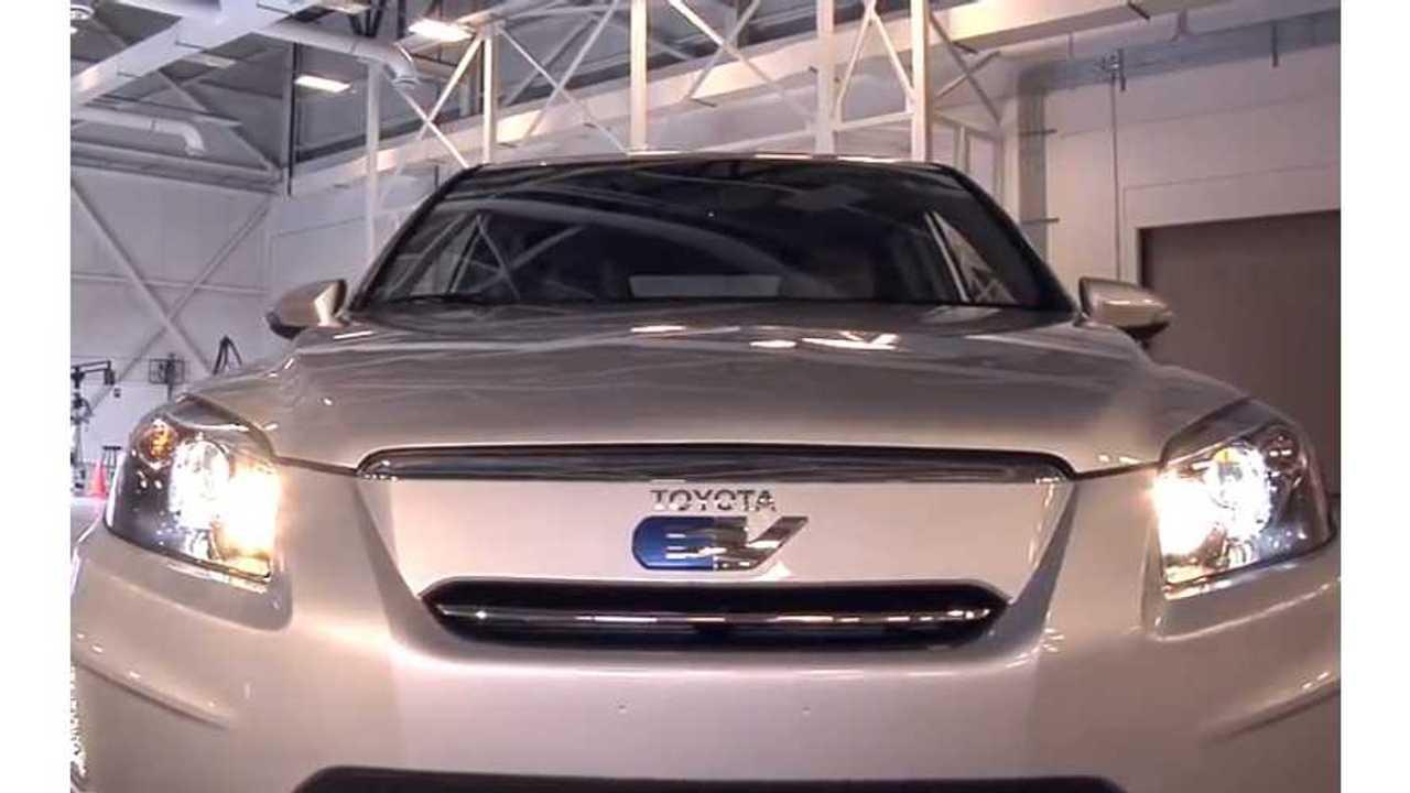 Toyota RAV4 EV - 103 Miles Of Range, 76 MPGe. On Sale September 24th - $599 Lease Offer