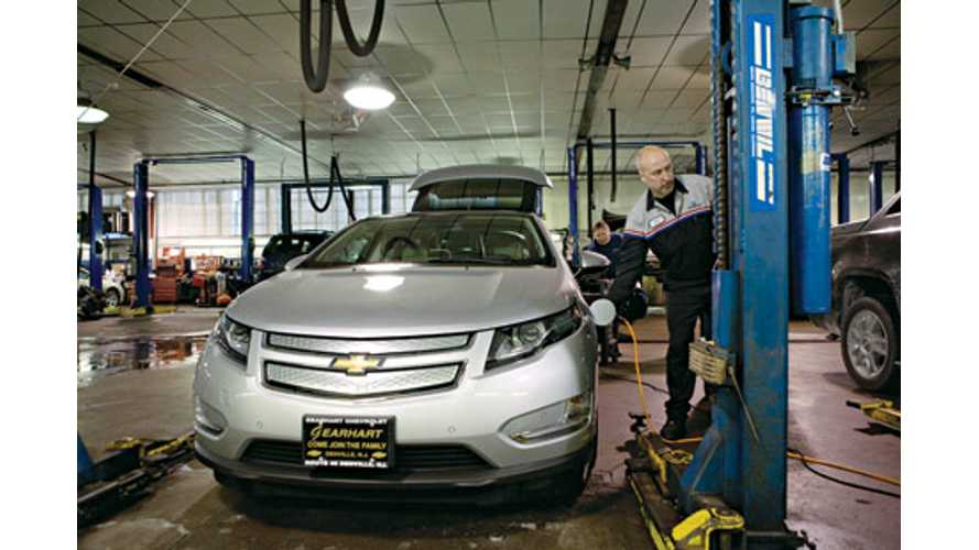 Some Chevrolet Volt Dealers Back Out Of Program Due To High Cost Of Tools