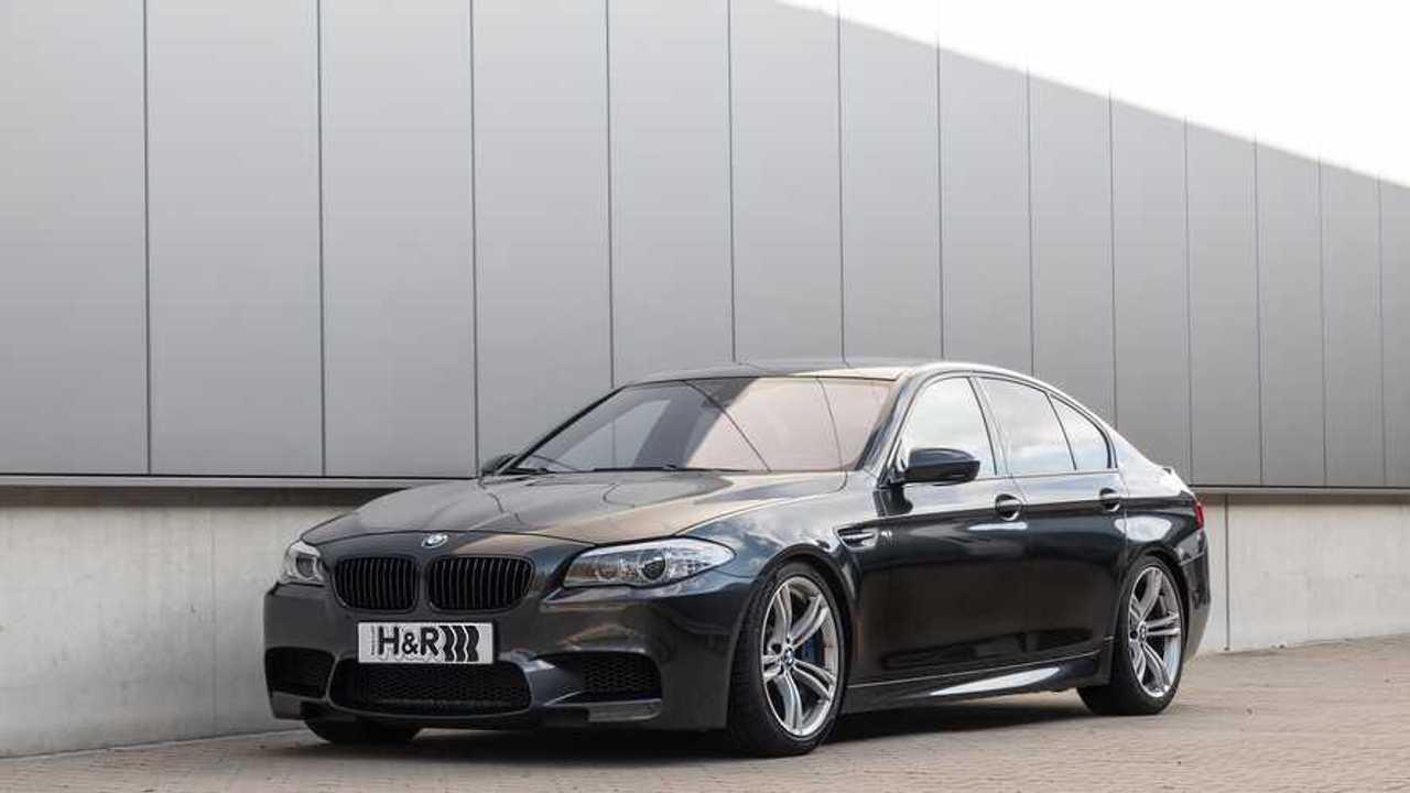 H&R BMW_M5 F10 Gewindefedern