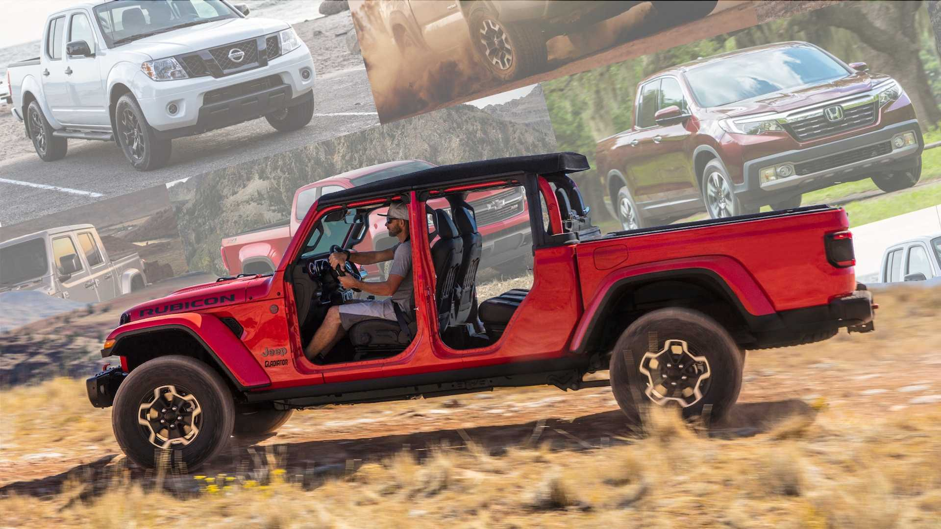 2019 Midsize Pickup Truck Comparison How Do They Stack Up