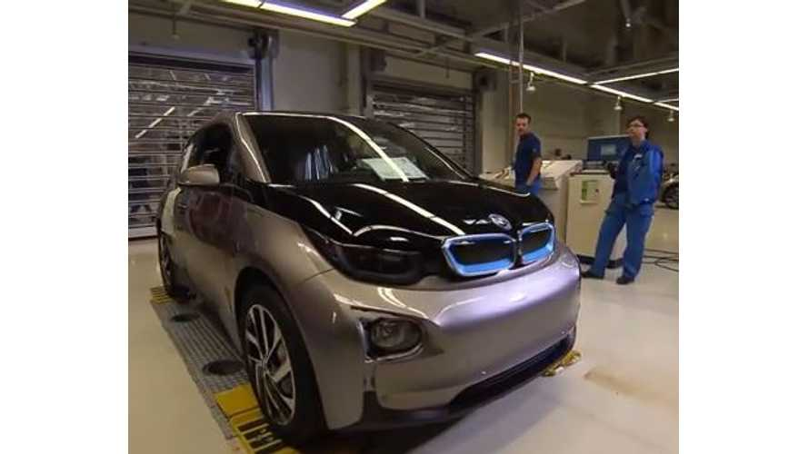 BMW i3 Production From Start to Finish - Video