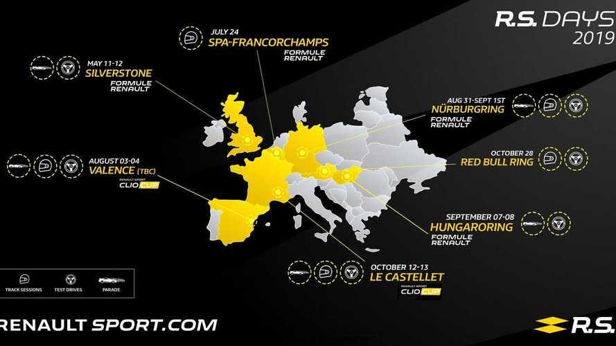 Avec les R.S. Days, Renault Sport crée sept rendez-vous pour ses fans