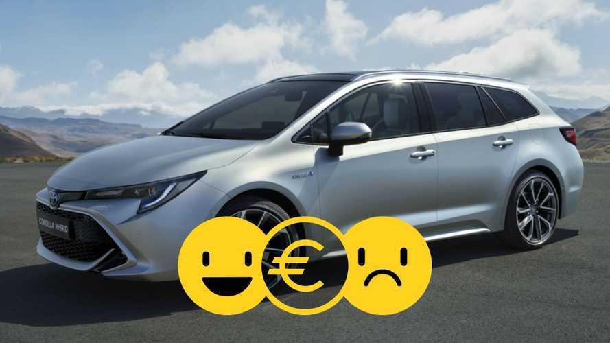 Promozione Toyota Corolla TS Hybrid, perché conviene e perché no