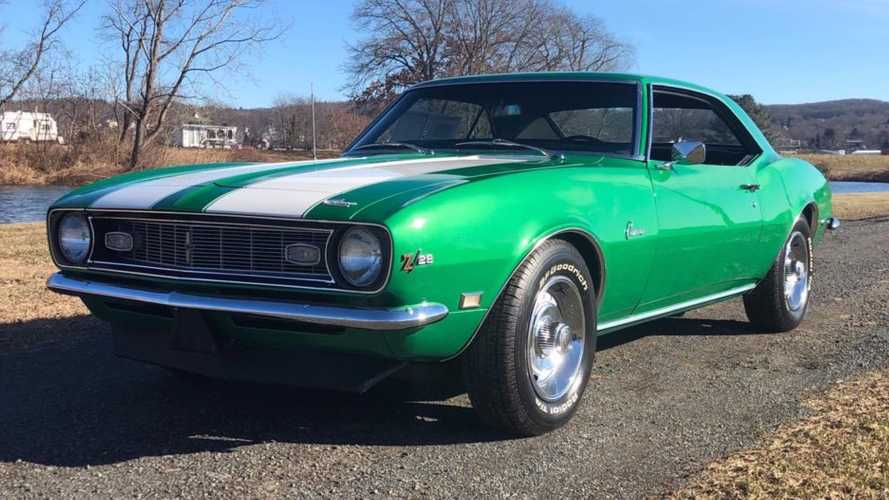Rally Green 1968 Chevrolet Camaro Z/28 4-Speed