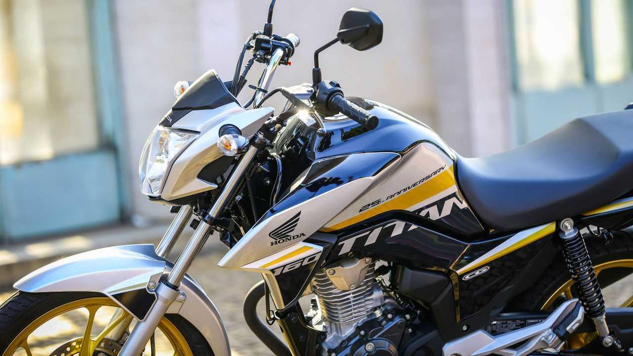 Honda CG 160 Titan Edição Especial 25 anos