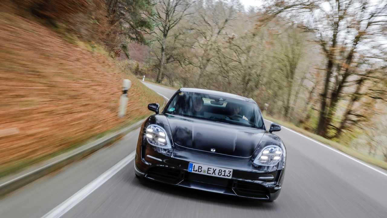 Porsche Taycan prototípus