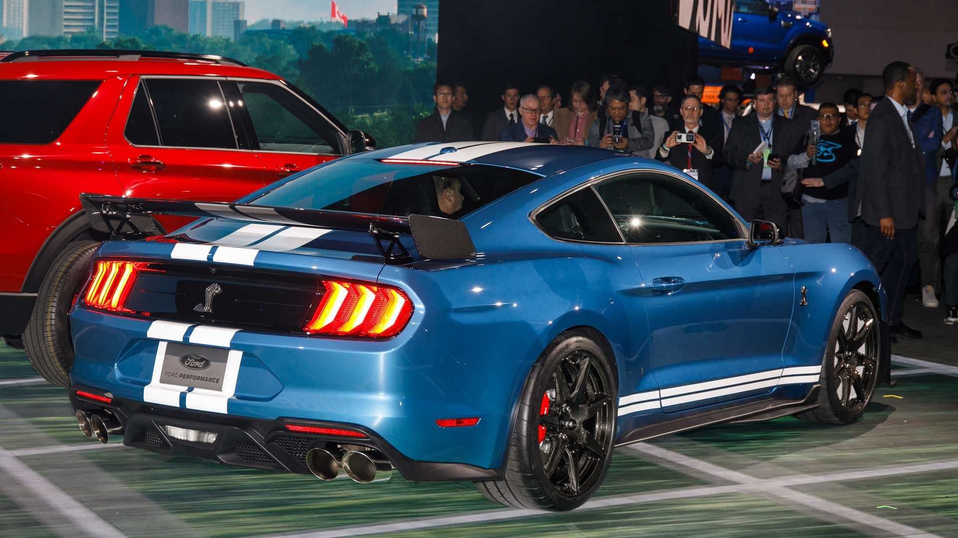 ford mustang shelby gt priced    surpass