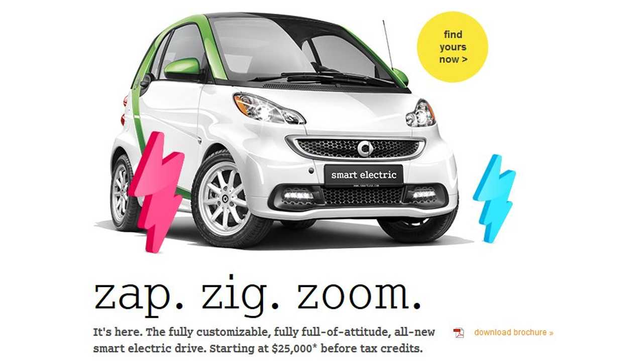 Third-Generation Smart Fortwo Electric Drive Begins US Rollout; US' Cheapest EV has Officially Arrived