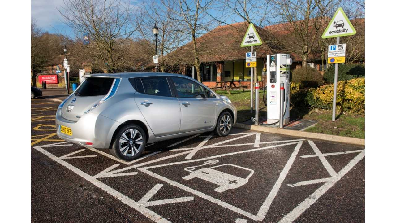 Ecotricity's Electric Highway in UK To Get First DC Combo Chargers in May
