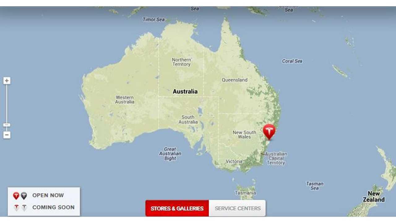 Tesla Has A Store In Sydney