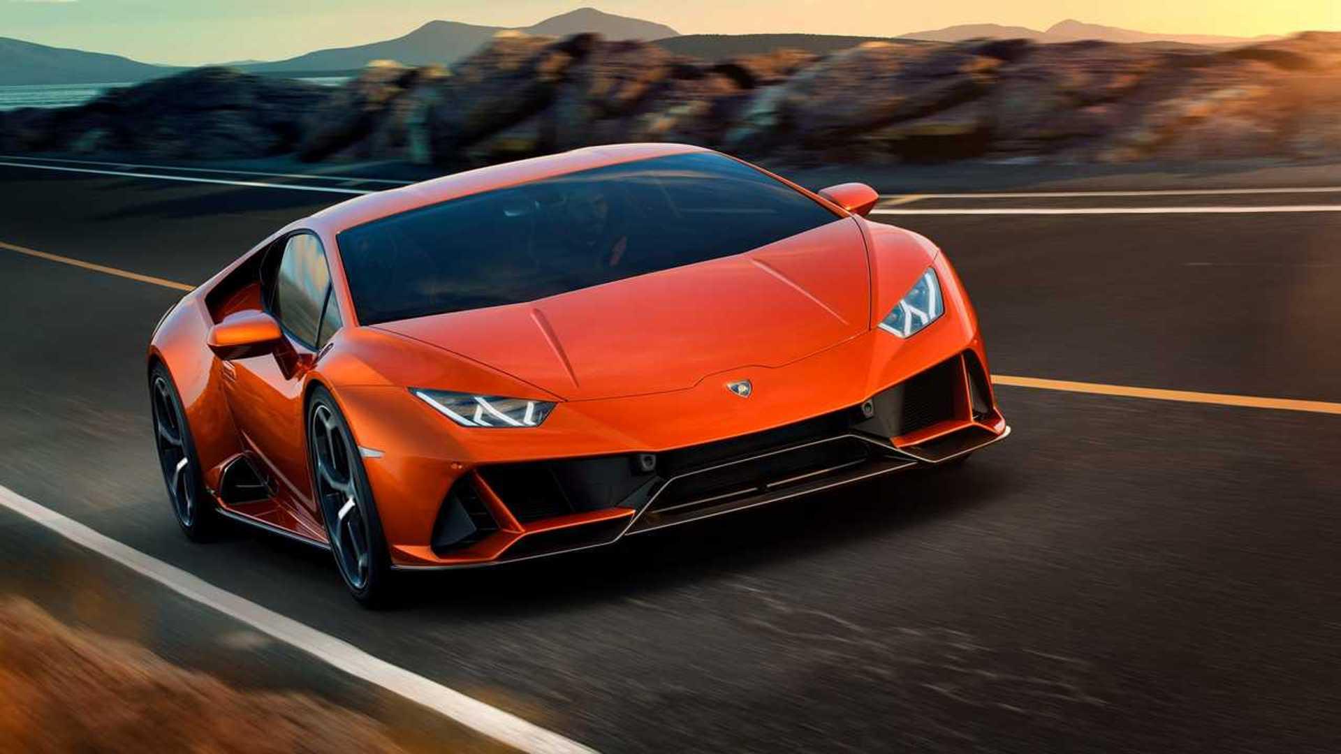 Lamborghini Huracan Evo Spyder Spied On The Highway