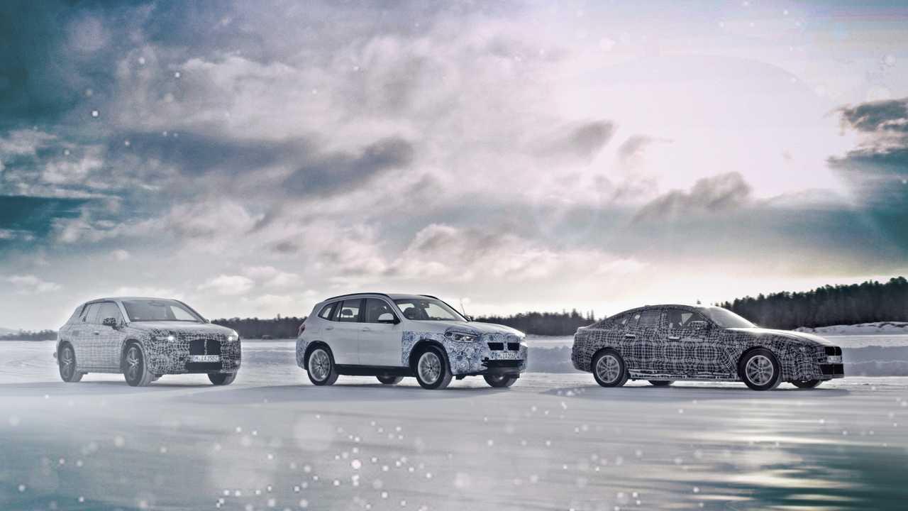 BMW iX3, i4 és iNeXT