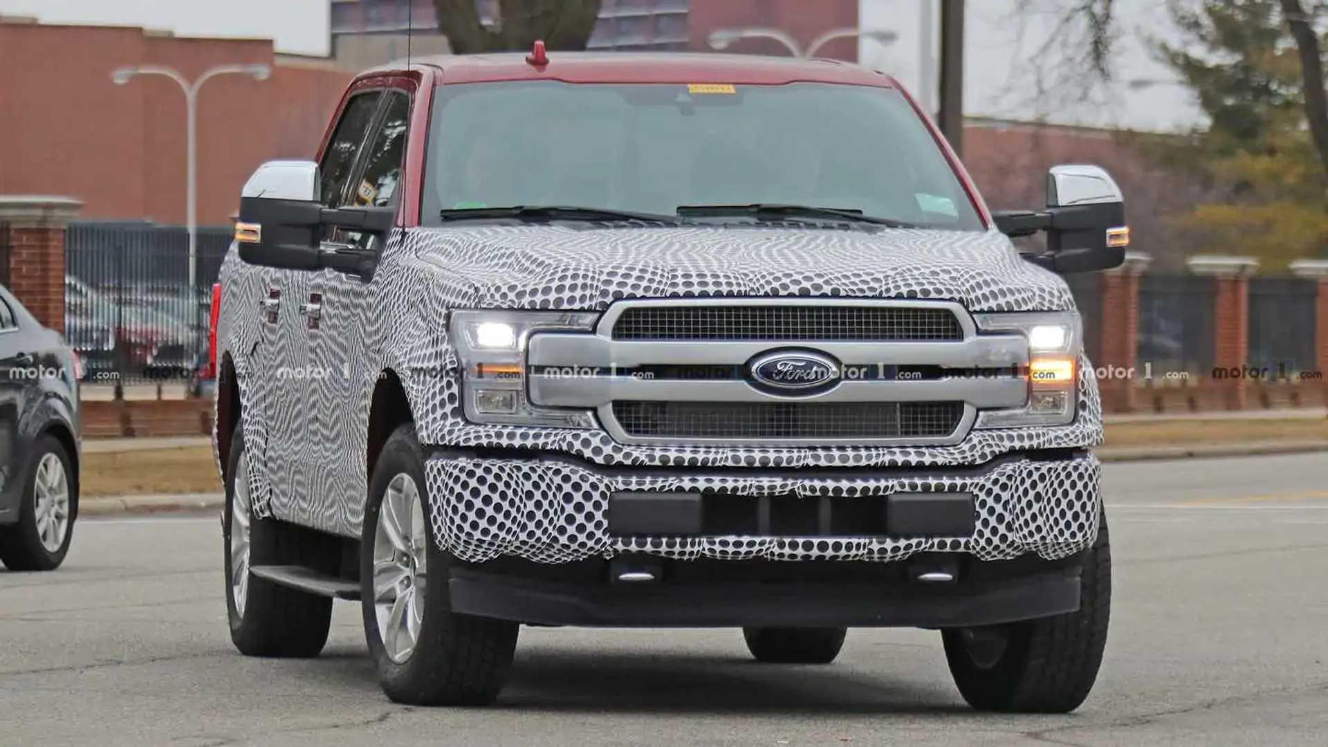 Ford F-150 EV Spy Shots