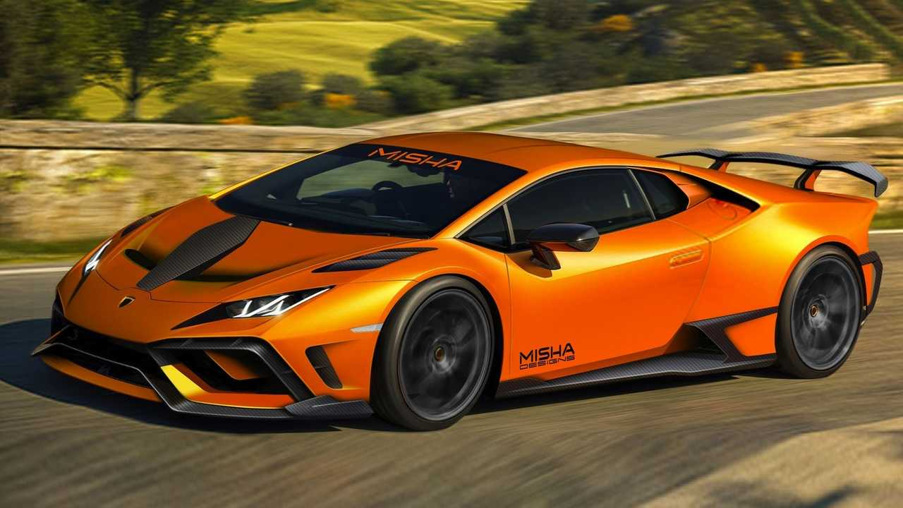 Lamborghini Huracan par Misha Designs