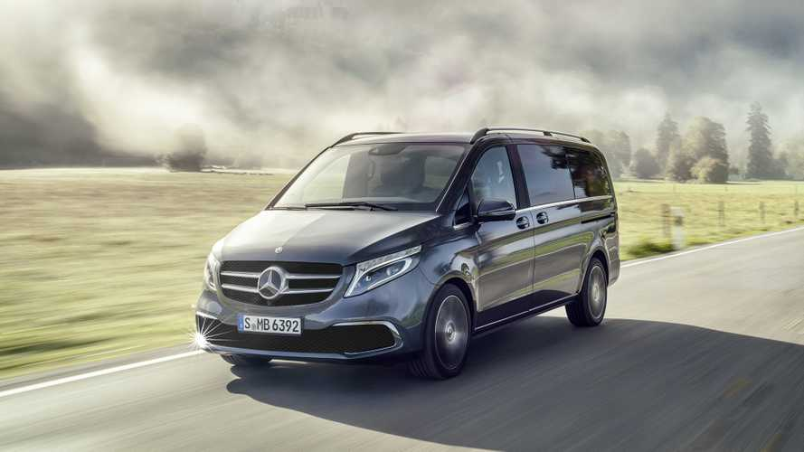 Mercedes V-Klasse (2019): Lifting und neuer Motor