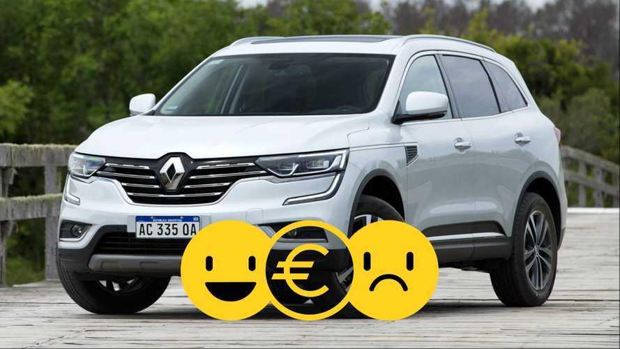 Promozione Renault Koleos, perché conviene e perché no