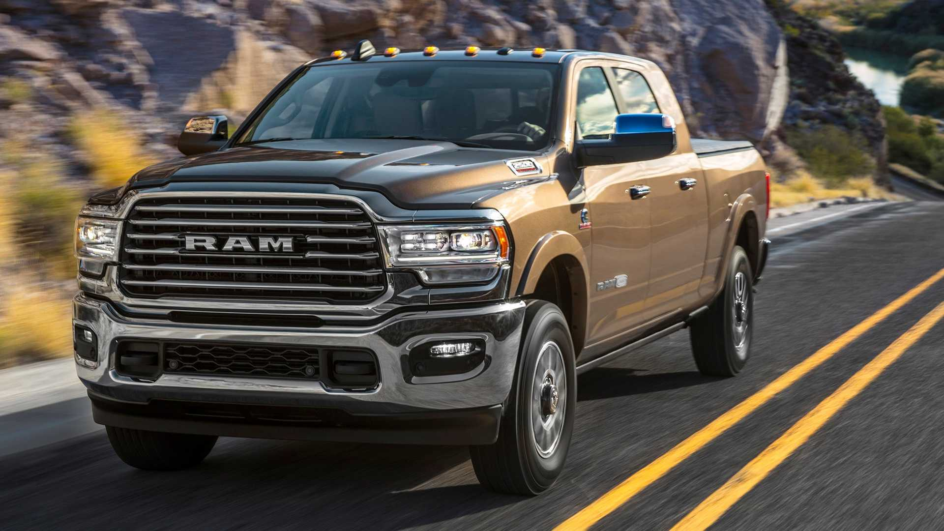 Dodge Ram Longhorn >> 2019 Ram Hd Laramie Longhorn Is A Leather Wrapped Workhorse