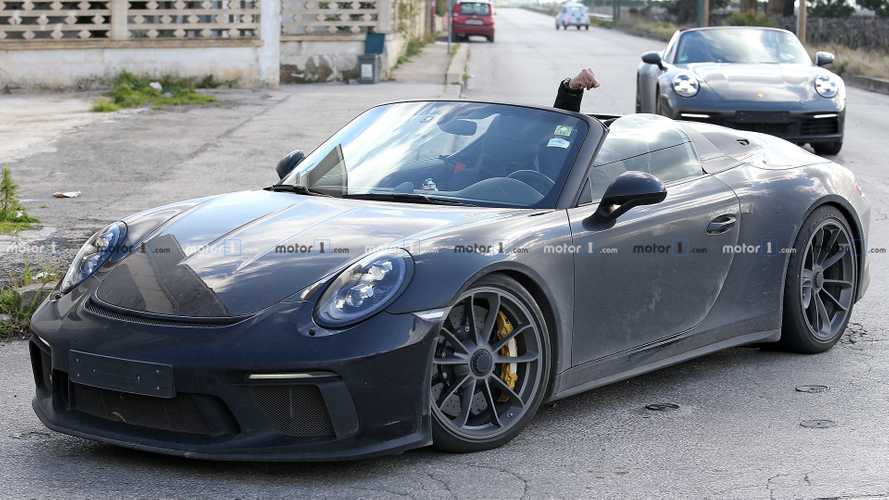 Photos espion Porsche 911 Speedster