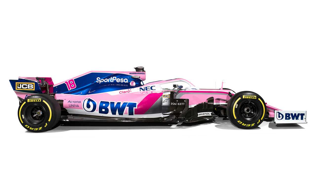Racing Point 2019 livery reveal