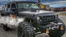 6x6, steam-powered Jeep Wrangler for sale