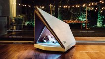 Ford noise-cancelling dog kennel