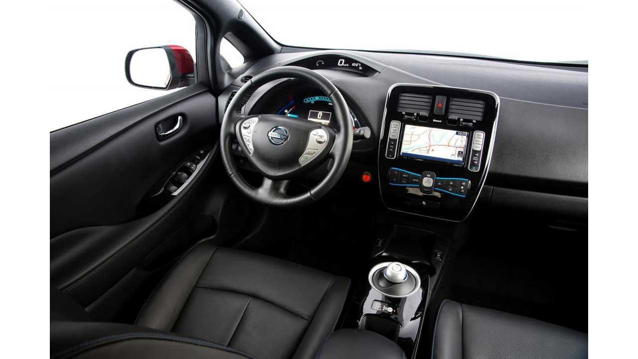 2017 Nissan Leaf Sl Interior