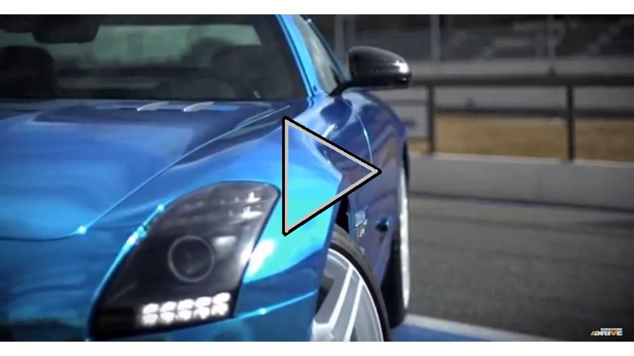Video:  Mercedes-Benz SLS AMG Electric Drive Goes Out For A Test Drive