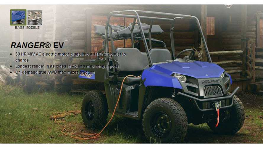 Polaris Ranger EV ATV