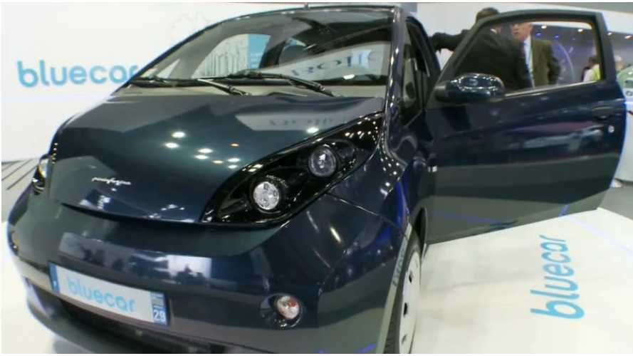 Bolloré Bluecar Now On Sale In France, Priced Below Renault Zoé at € 12,000