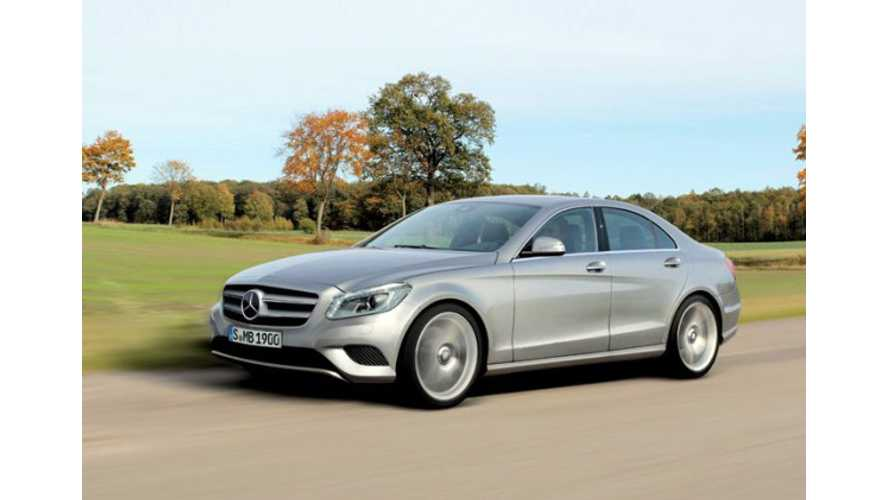 Mercedes-Benz CEO Confirms Upcoming 2015 C-Class Plug-In Hybrid
