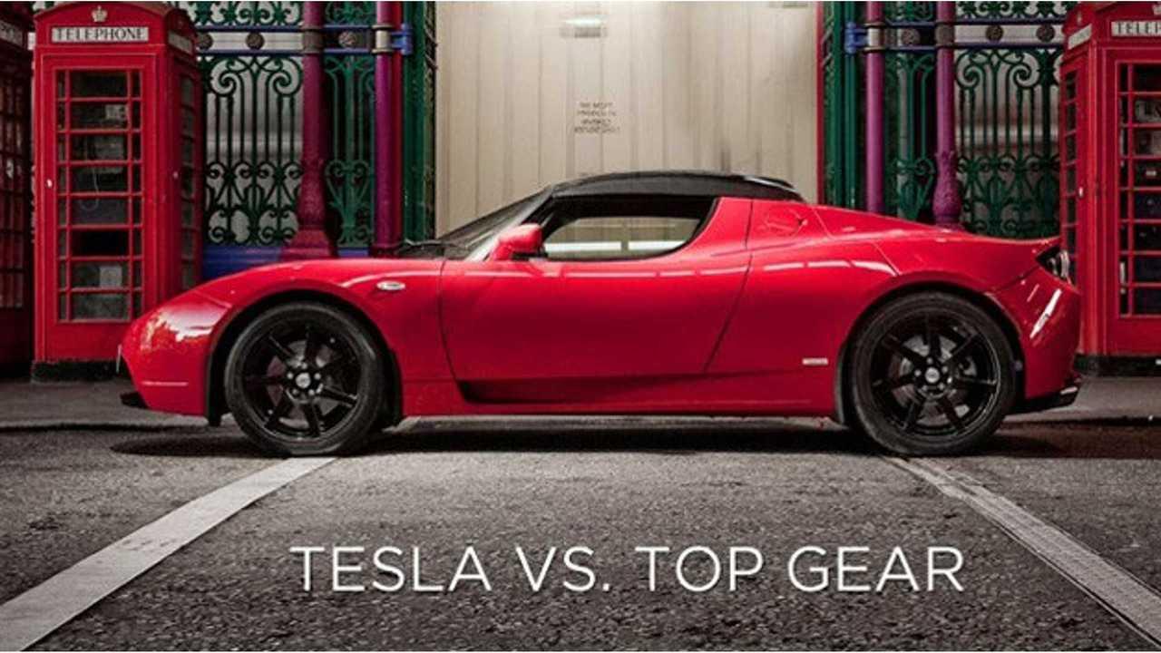 Appeals Court Dismisses Tesla Libel Suit Against BBC's Top Gear (Video)