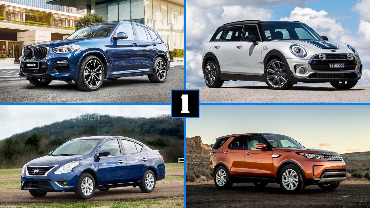 Top 10 New Cars Sold In A Year